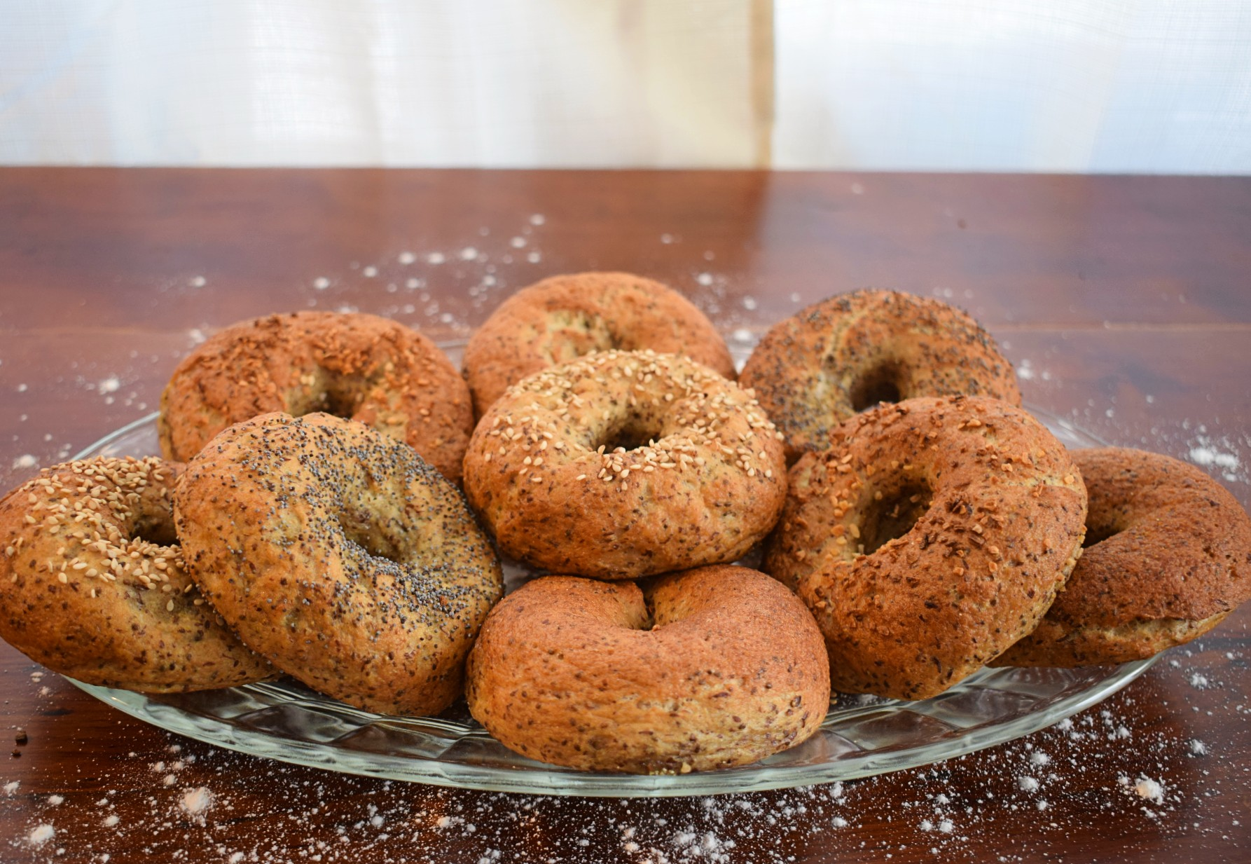 Gluten Free Sesame Seed Bagels - Local Foods Plymouth